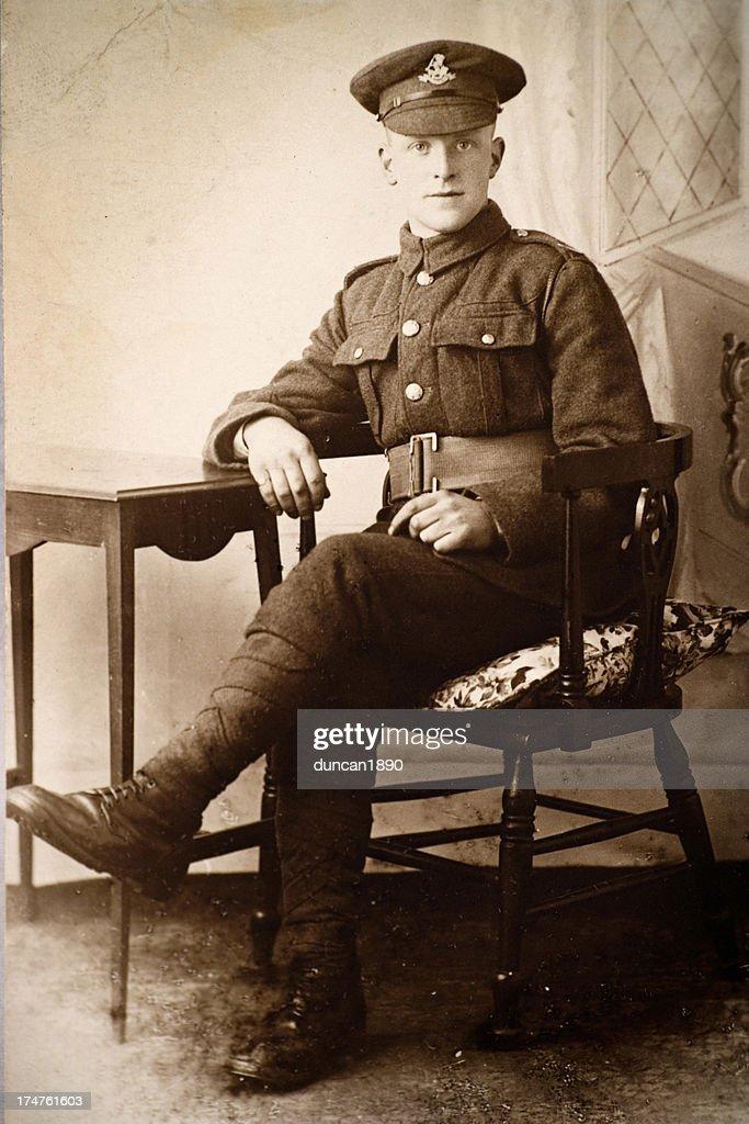 Soldat de première guerre mondiale : Photo