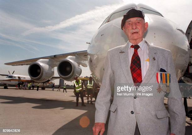 First World War veteran Robbie Burns among 72 centenarians in London today for what could be the biggest ever gathering of centenarians in the world...