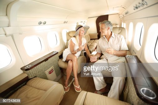 First-class all the way : Stock Photo