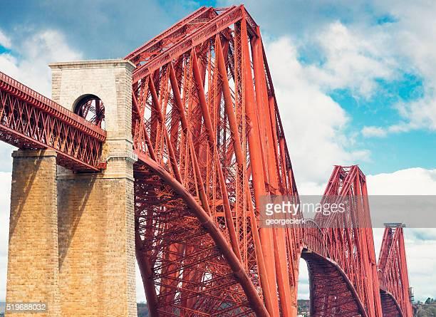 Firth of Forth Rail Bridge detail