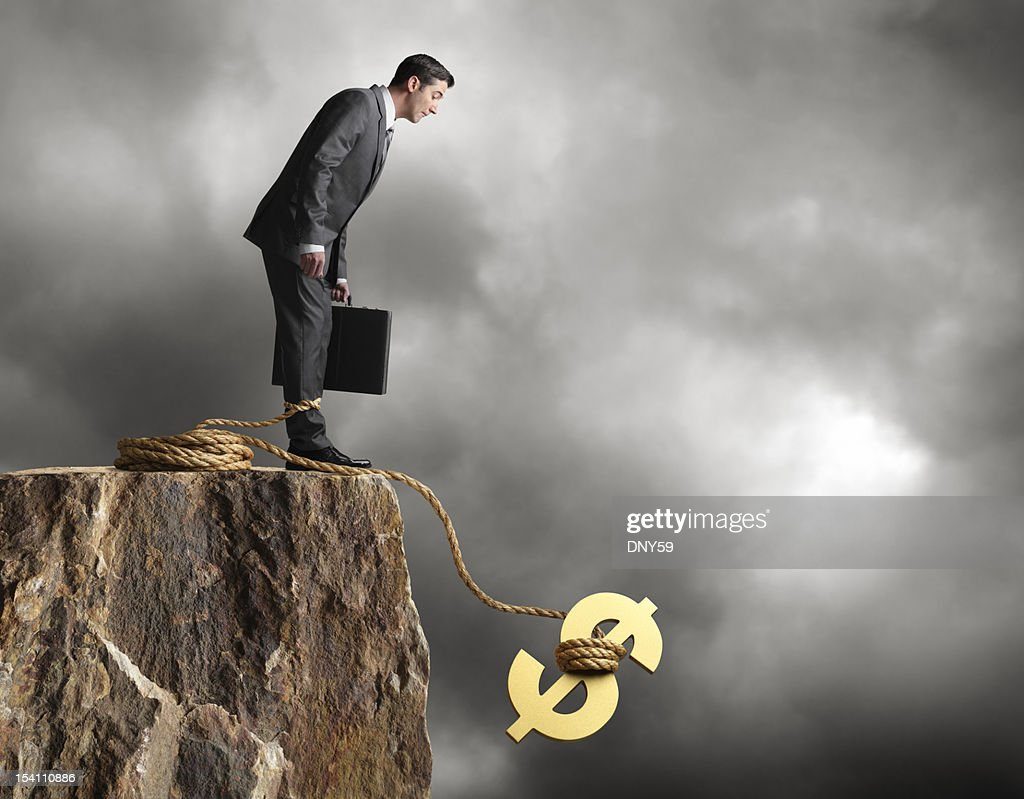 Fiscal Cliff : Stock Photo