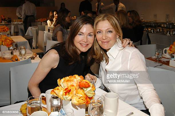Fisch and Alla Broeksmit attend GRAFF NETJETS Private Viewing Brunch Celebrating the 2008 WHITNEY BIENNIAL at Whitney Museum of American Art on March...