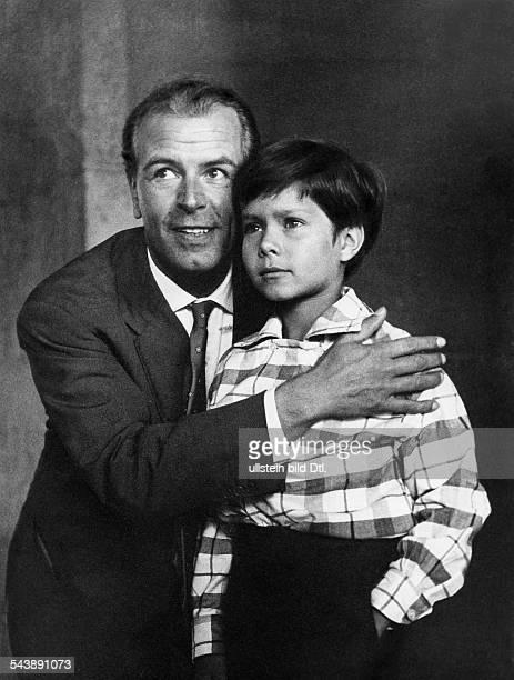 Fischer Otto Wilhelm Actor Austria* with actor Oliver Grimm 1956Vintage property of ullstein bild