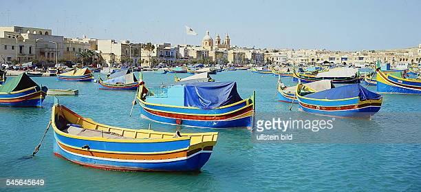 Fischerhafen von Marsaxlokk 1994