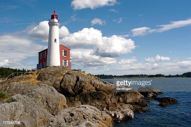 Fisgard Lighthouse nahe Victoria, Kanada