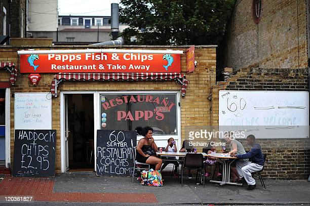 A fish and chip restaurant on August 2 2011 in Margate England The east Kent seaside town of Margate is currently undergoing regeneration work to...