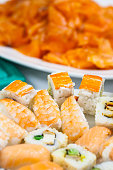 real edible seafood - no artificial ingredients used