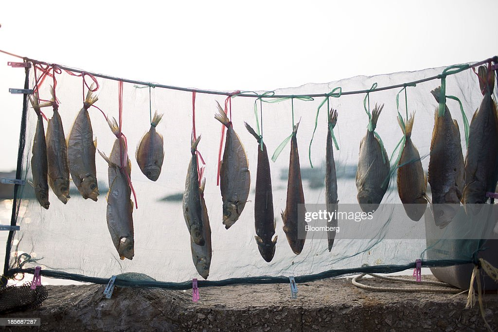Fish hang to dry on Lamma Island in Hong Kong China on Tuesday Oct 22 2013 Hong Kong has the world's highest home prices most expensive retail rents...