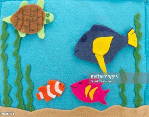 Fish Puppets -  Felt Storyboard3