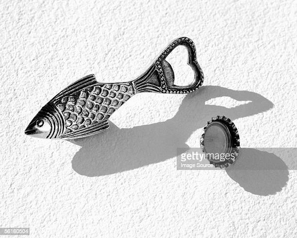 Fish shaped bottle-opener