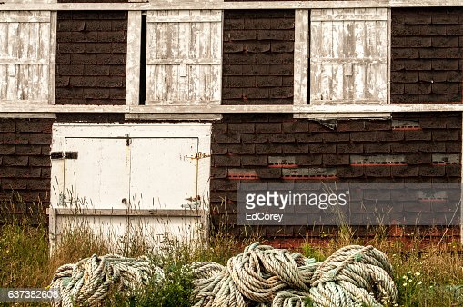 Pesce Shed : Foto stock