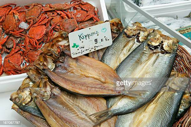 Kipper stock photos and pictures getty images for Smoked herring fish