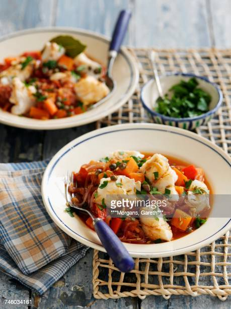 Fish stew with vegetables (Basque Country, Spain)