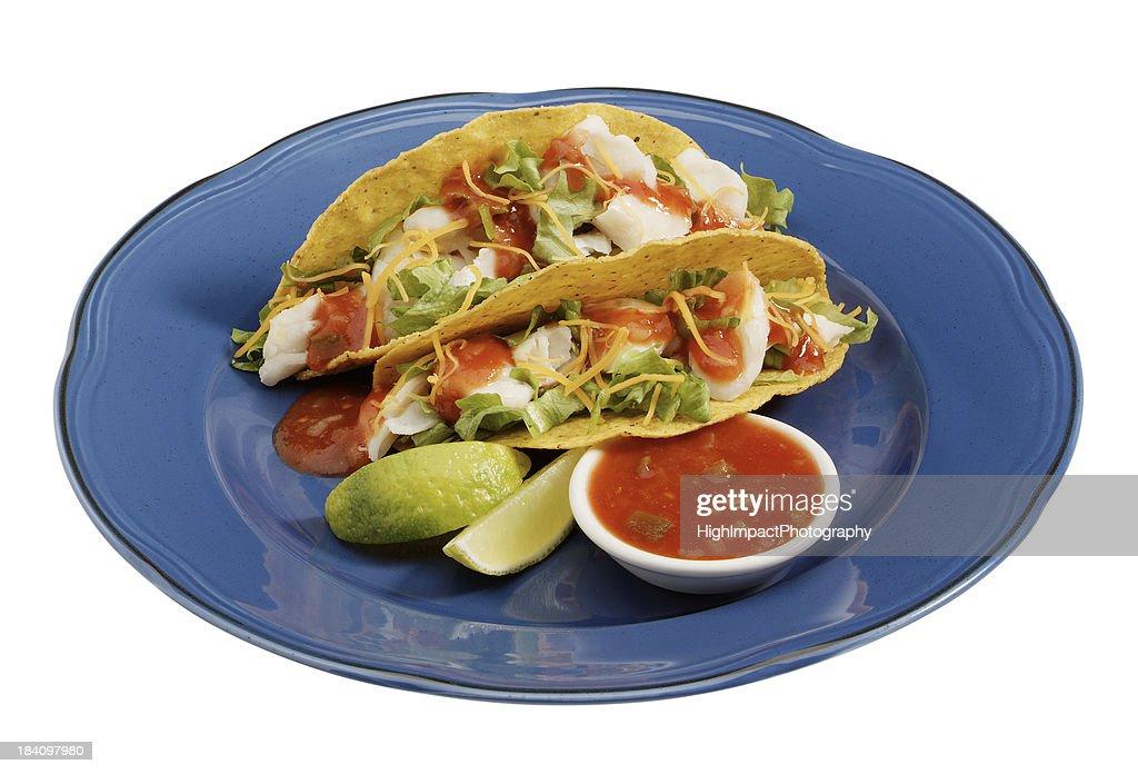 Fish Tacos : Stock Photo