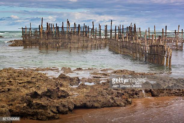 Fish Traps at the Beach