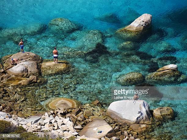 Fisher at Porto Giunco / Sardinia Italy