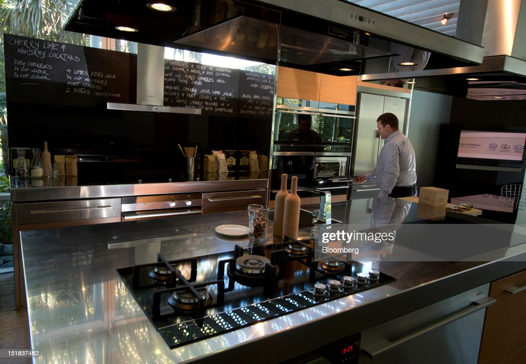 Inside A Fisher Paykel Appliances Showroom As Haier Group Makes 564 Million Bid Getty Images