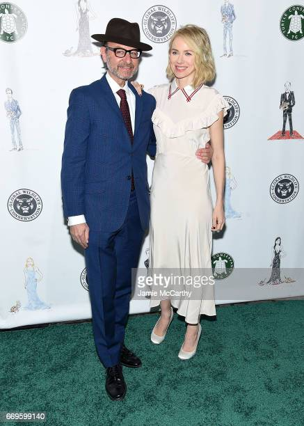 Fisher Stevens and Naomi Watts attend The Turtle Conservancy's Fourth Annual Turtle Ballat The Bowery Hotel on April 17 2017 in New York City