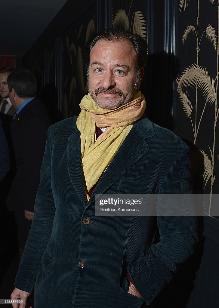 Fisher Stevens attends The Cinema Society with Hugo Boss and Appleton Estate screening of 'Seven Psychopaths' at No. 8 on October 10, 2012 in New York City.