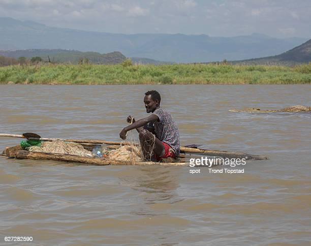 Fisherman and Crocodile