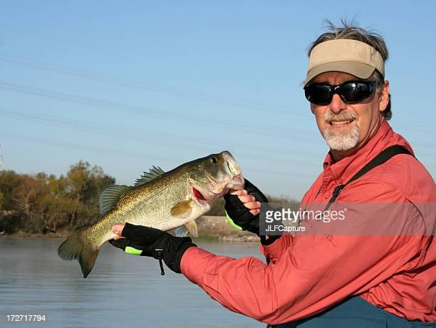Fischer, die große Mund Bass