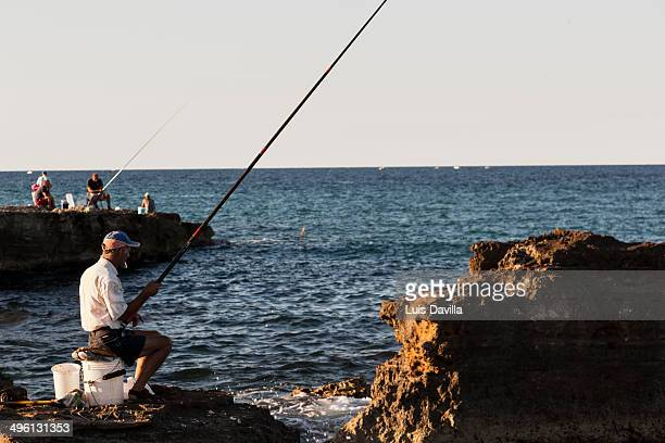 fisherman in costa salento