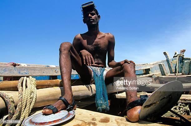Fisherman in Rameswaram