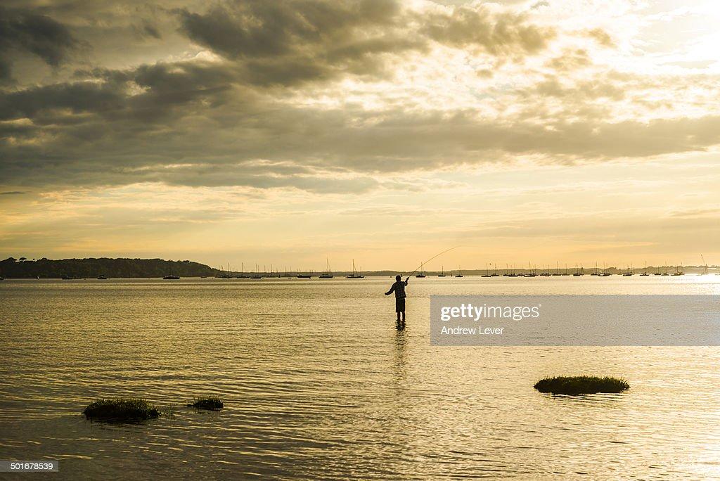 Fisherman Poole Harbour