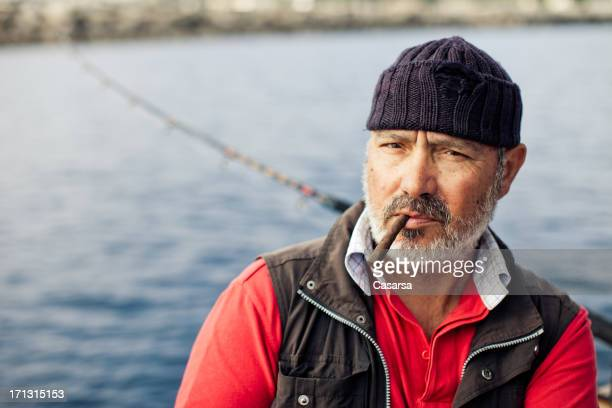 Fisherman portrait