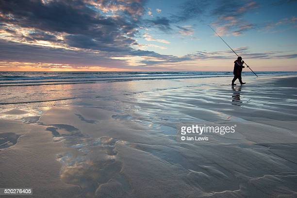 Fisherman, Sunset, Porthtowan, Cornwall