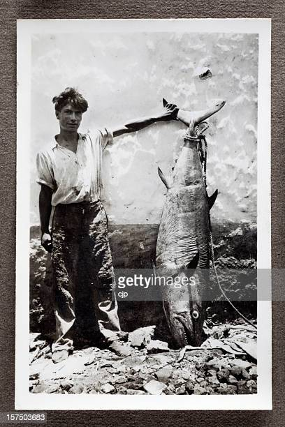 Fisherman With Bluefin Tuna