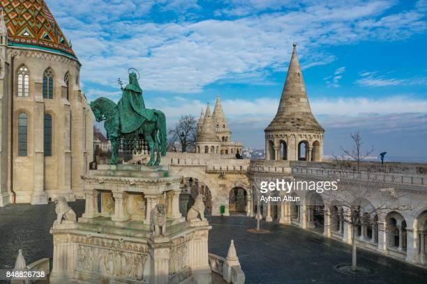 Fisherman's Bastion terrace ,Budapest, Hungary