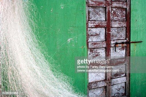 Fisherman's shack : Stock Photo
