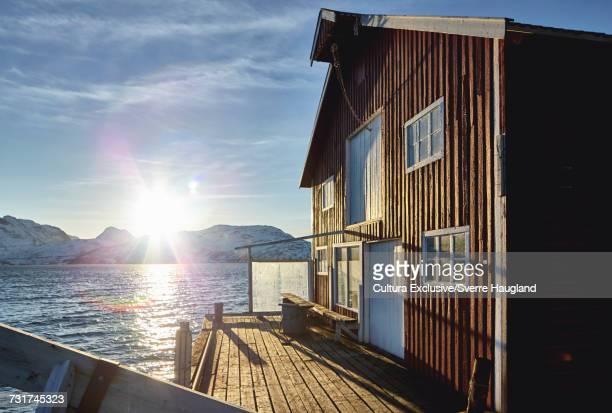 Fishermans warehouse, Tromso, Nordland, Norway