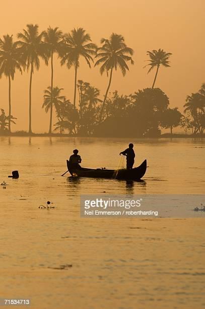 'Fishermen at Allepy, Kerala, India'