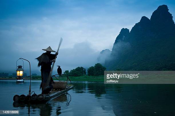 Fishermen  fashing on Li River