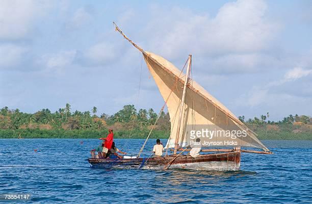 Fishermen in a Mashua Boat