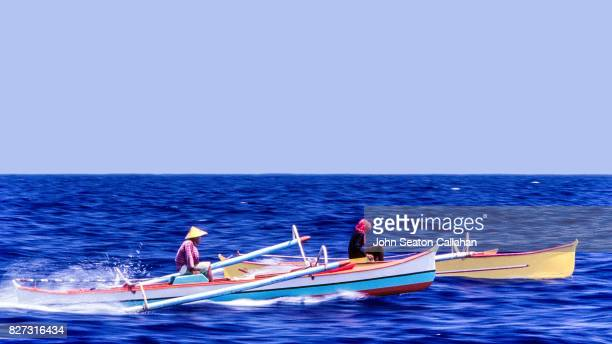 Fishermen in Pumpboats