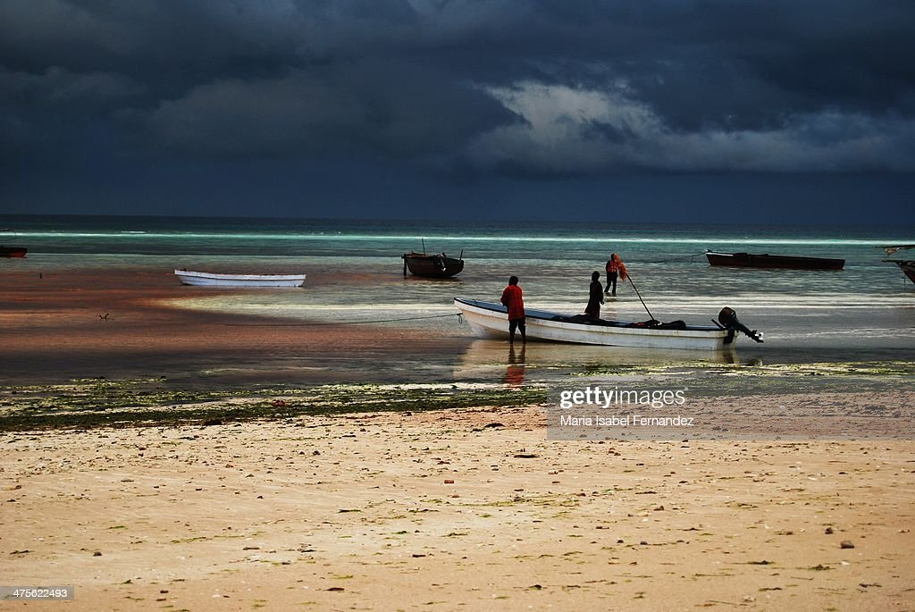 Fishermen in Zanzibar