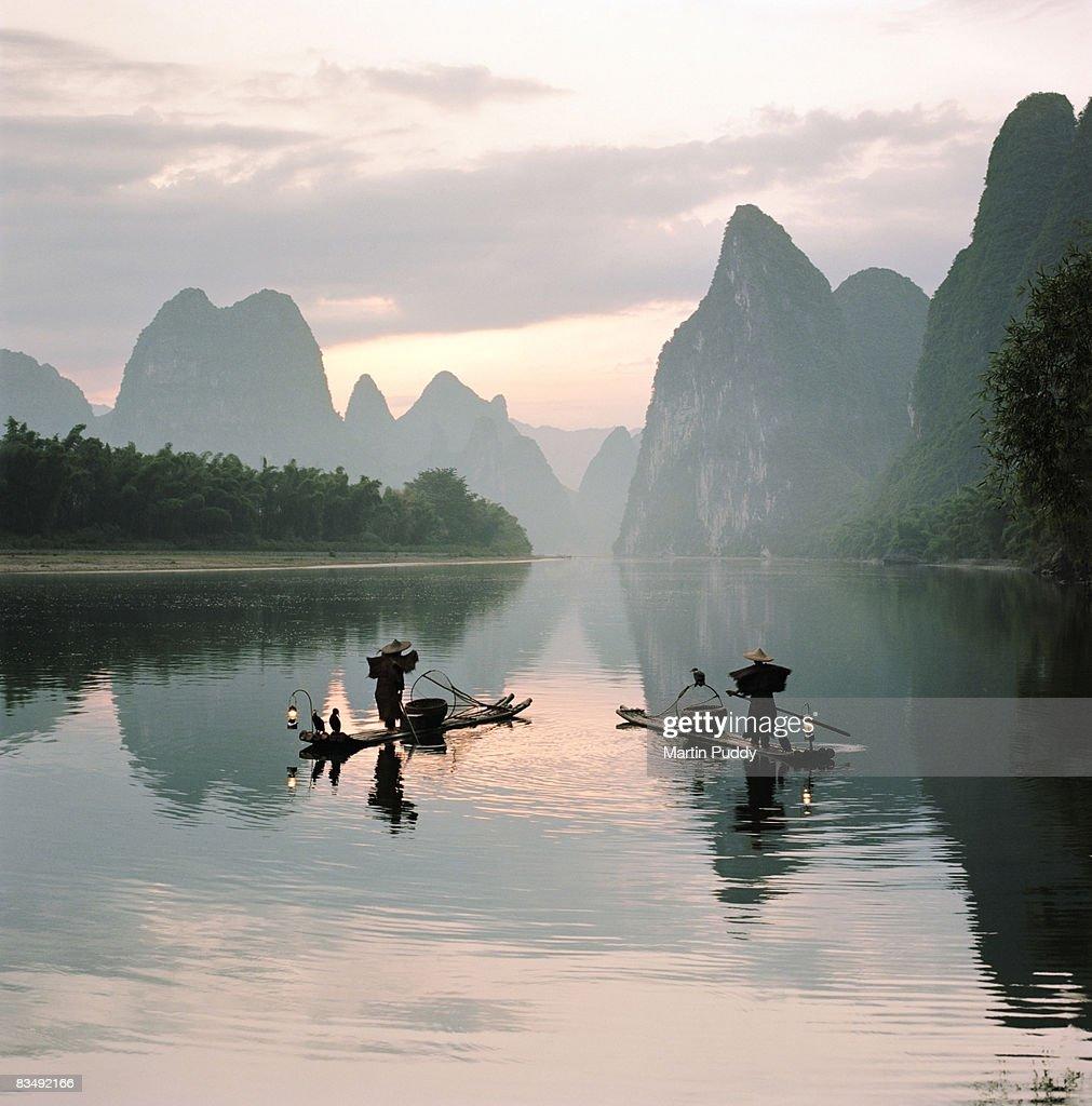 Fishermen on the Li River