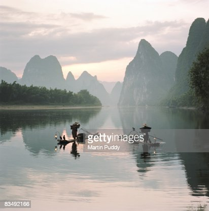 Fishermen on the Li River