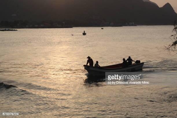 Fishermen Returning To Port