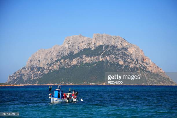 Fishermen Tavolara island Loiri Porto San Paolo Sardinia Italy