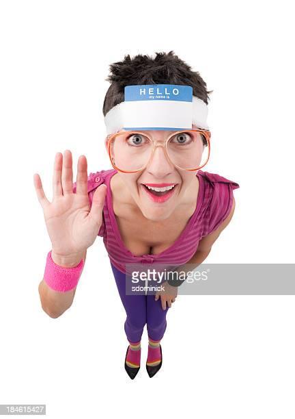 Fisheye 80 donna Geek con targhetta di identificazione