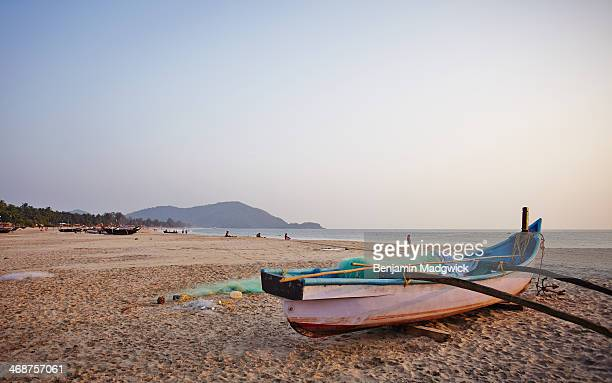 Fishing Boat Agonda Beach Goa