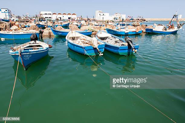 Fishing boat in harbor of Ras El Ma