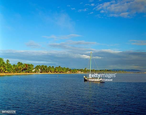 Fishing boat in Plasencia gulf