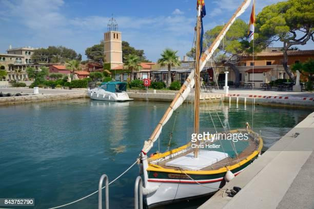 Fishing Boat in Port of Bendor Bandol
