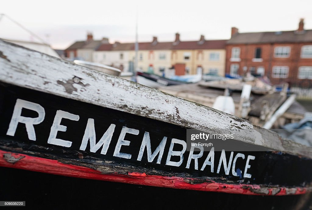 A fishing boat is parked in an area known as Fisherman's Square on February 10, 2016 in Redcar, England. The inshore fishing fleet at Redcar originated in the early 14th Century with crab, lobster and fishing bringing in much needed income to local fishermen. As the fishing industry has steadily declined so to the fleet has reduced in size so that today only a small number of boats still put to sea from the town to continue the fishing heritage on the east coast of England.