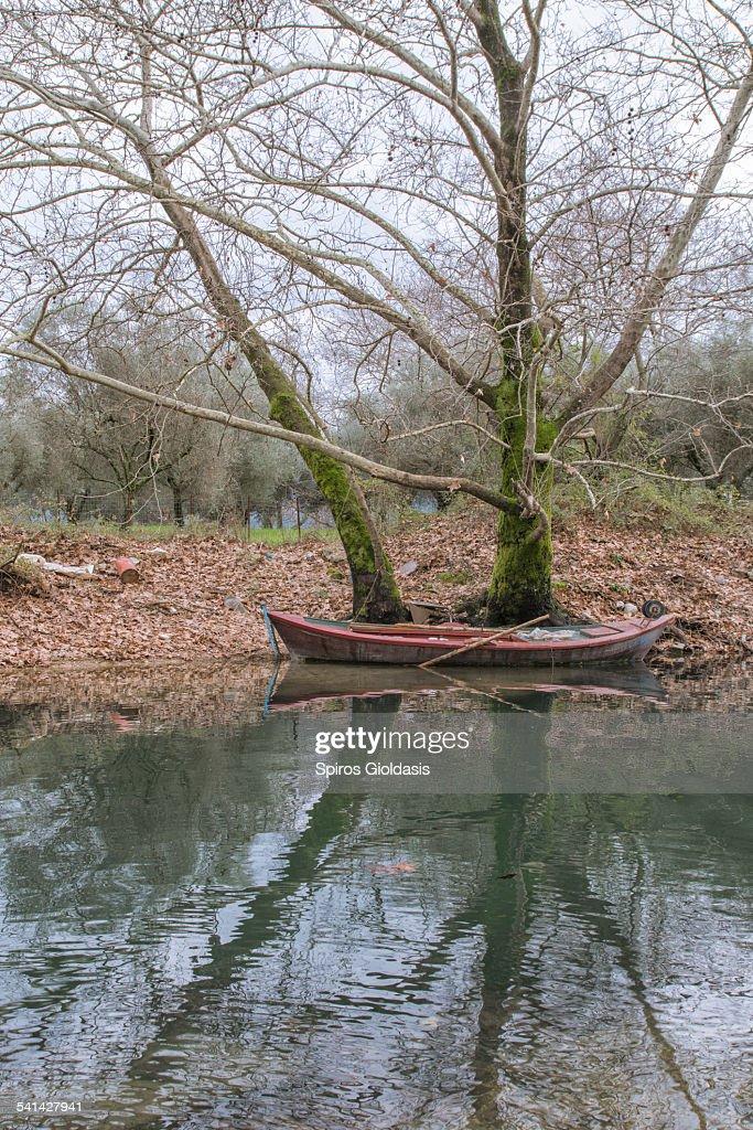 Fishing boat : Stockfoto